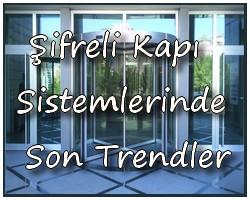 þifreli kapý sistemlerinde son trendler